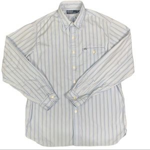 Polo Ralph Lauren Dress Shirt Striped L/S Cotton